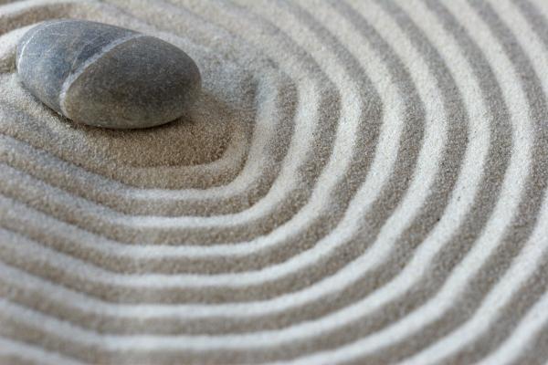 Stein im Sand – Systemische Einzelberatung